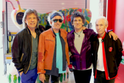 The Rolling Stones and SJM Bee